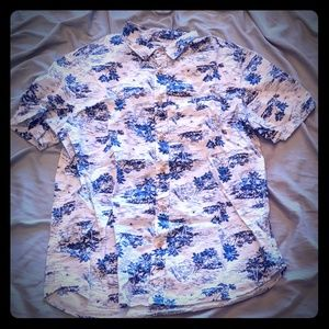 Slim Fit 🏄♂️🌴🌊 short sleeve button up